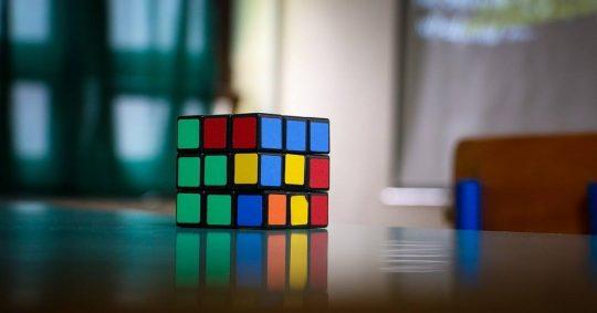 Rubiks kub — en riktig 3D klassiker