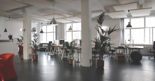 Vikten av ett fräsch kontor